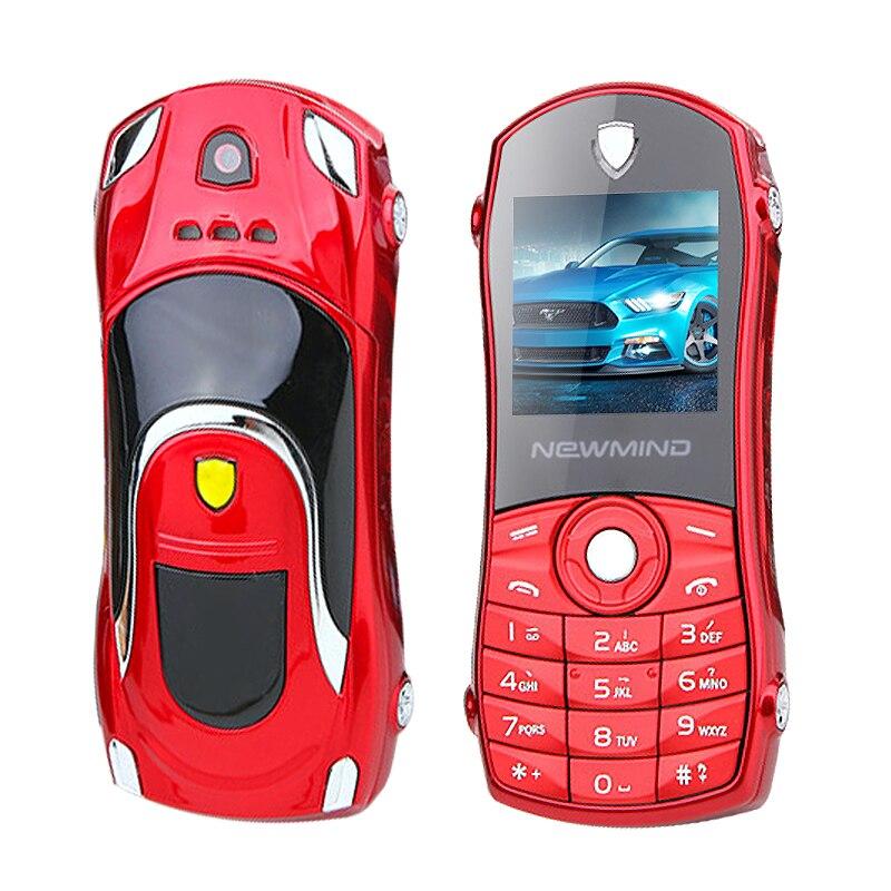 Цена за Newmind F3 разблокировки бар дешевые небольшой размер мини спорт прохладный суперкар модель ключа автомобиля bluetooth мобильный телефон сотовый телефон P042