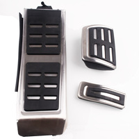 Car Fuel Brake Footrest Pedal case For Audi A4 A4L A6L A7 S7 A8 S4 RS4,A5 S5 RS5 8T Q5 SQ5 8R,auto accessories