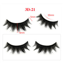 20pcs 100% mink eyelashes extra length 25mm lashes 3D Big dramatic volumn false eyelash