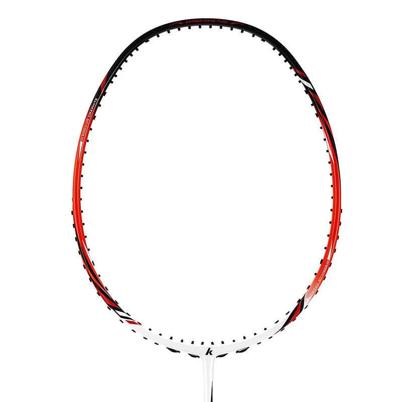 2020 neue Halb-sterne Echtem Kawasaki Voll Carbon Badminton Schläger Besten Kauft Raquette Badminton Mit Freies Geschenk