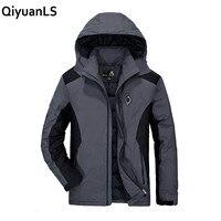 Qiyuanls الرجال القطن مبطن سترة معطف الشتاء سترة الرجال أزياء الشتاء معطف سميك ستر أبلى المعاطف العسكرية