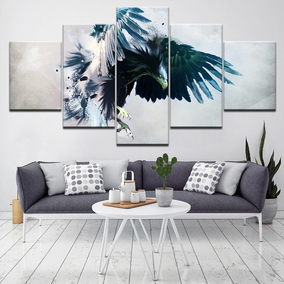 Wall Art Pictures Home Decor Framework HD Prints 5 Piece