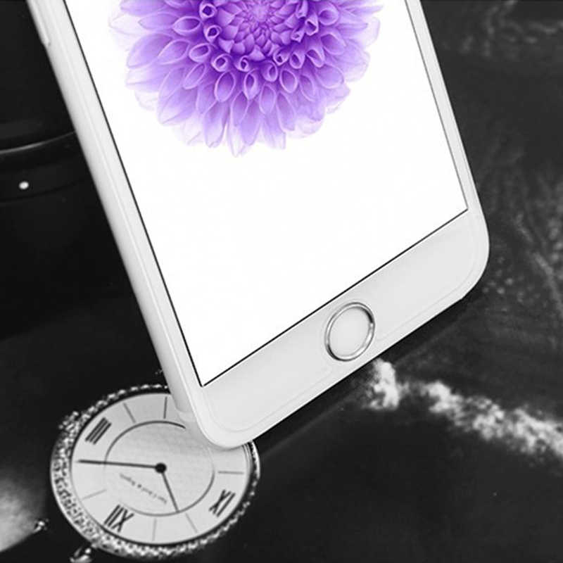 NYFundas اللمس ID الرئيسية زر ملصق لابل آيفون 7 6S 6 Plus SE 5s 8 5C باد برو دعم بصمة ملصقات الهاتف المحمول