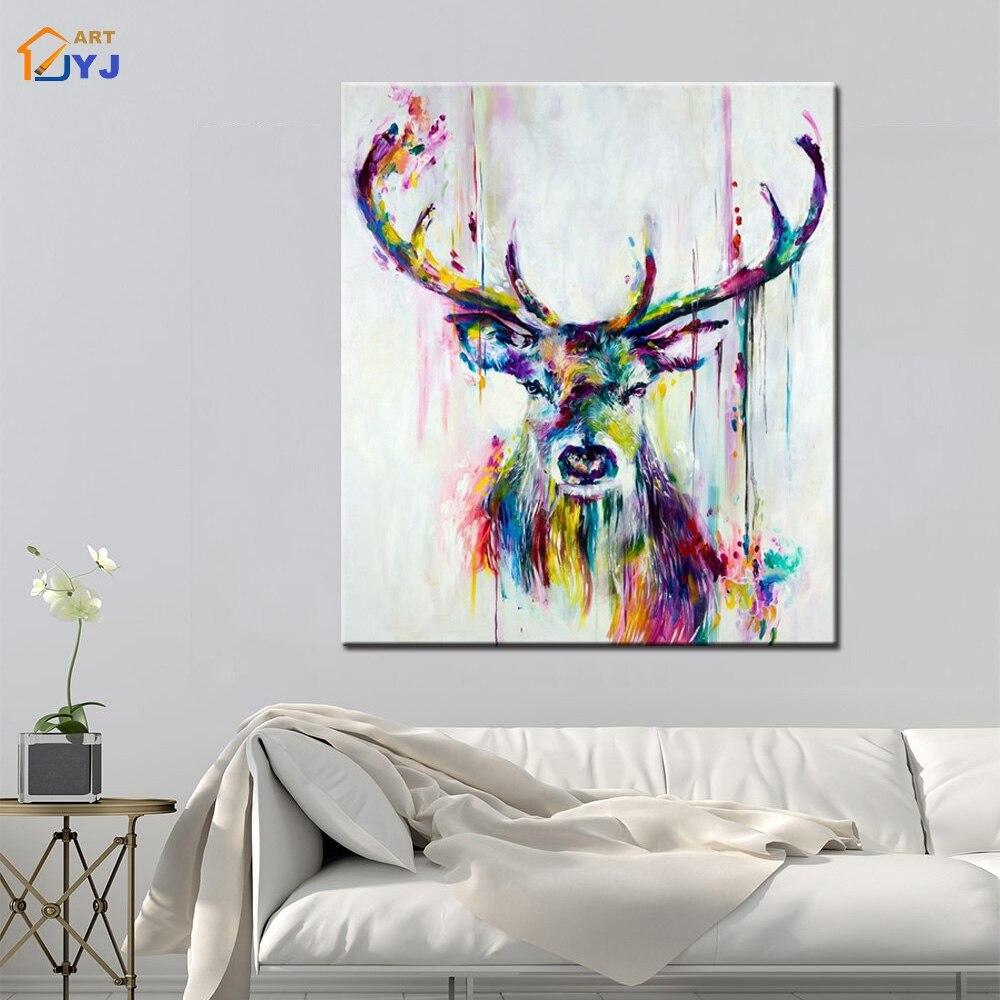Textura de color alces imagen para sala de estar pintado a mano ...