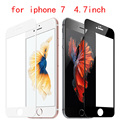 free shipping Tempered Glass for iPhone 7 Screen Protective Film Ultra Thin Full Screen Front Protector Film for iPhone 7
