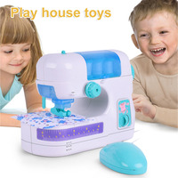 New Furniture Toys Small Size Doll Clothing Sewing Machine Electric Small Appliances Children Play House Tyos Wholesale