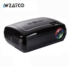 Nuevo Android 6.0 5500 Lúmenes Multimedia de Cine En Casa 3D LED TV Proyector full hd 1080 p proyector de juegos de Vídeo Portátil Proyector bt96