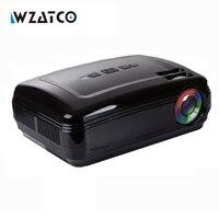 Wzatco Android 6.0 5500 люмен мультимедиа дома Театр 3D светодиодный ТВ проектор Full HD 1080 P видео Портативный игра проектор proyector bt96