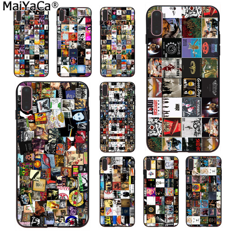 Maiyaca Album Cover Wallpapers Top Detailed Popular Cell Phone Case Cover For Iphone 11 Pro 8 7 66s Plus X 5s Se Xs Xr Xs Max Phone Case Covers Aliexpress