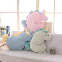 цены на New Soft Plush Toys Stuffed Animal Pink Unicorn Doll  Kawaii Christmas Gift For Children Cute Sofa pillow Cushion Home Decor  в интернет-магазинах