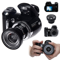 16 0MP 2 4inch TFT Digital Camera Kit HD Video Camcoder Len Wide Angle 8 X