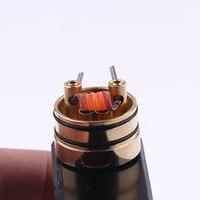 XFKM NI80 A1 SS316L 100pcs/box High Density Alien V2 Fused Clapton Prebuilt Heating Coil Electronic Cigarette RDA RTA RDTA Coil