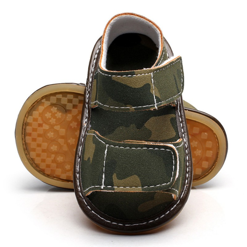 Summer Kids Baby Boys Sandals PU Infant Sandals For Boys Casual Toddler Breathable Shoes