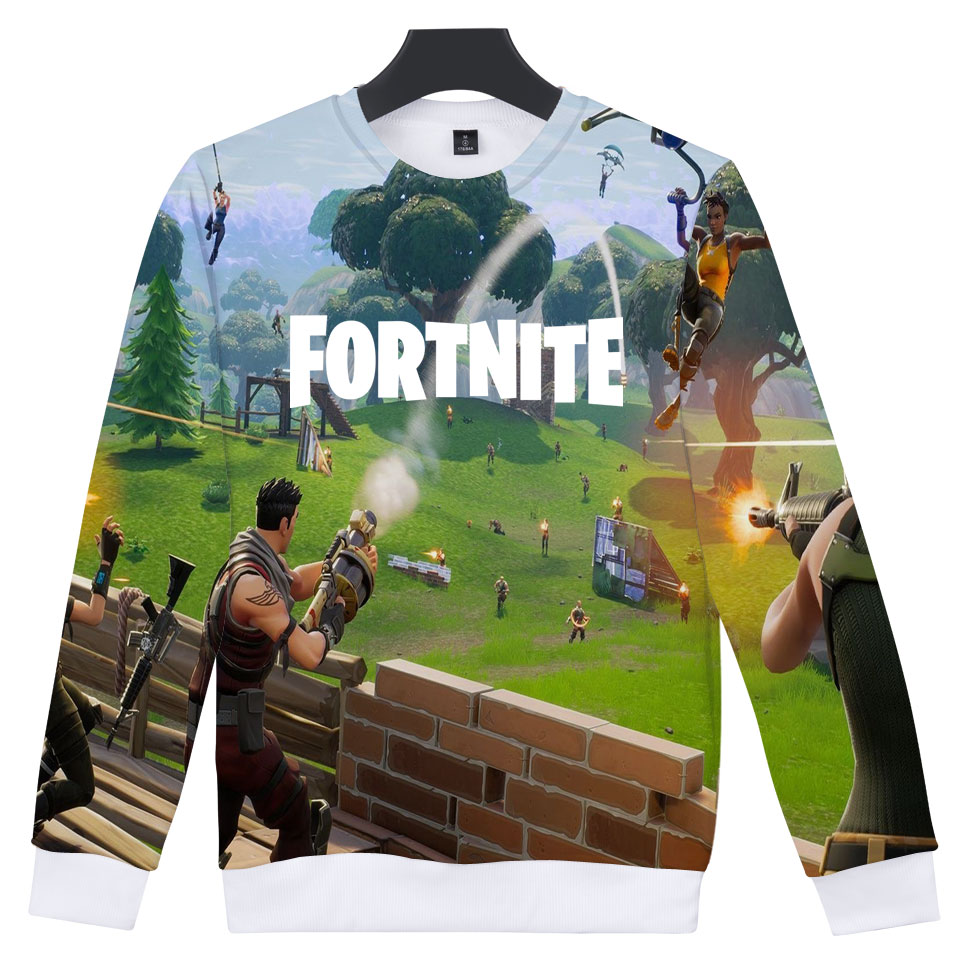 FORTNITE childrens hoodies women hoodies set 3D printing woman winter hoodies 3d mens O-Neck hoodies Autumn long-sleeved clothin
