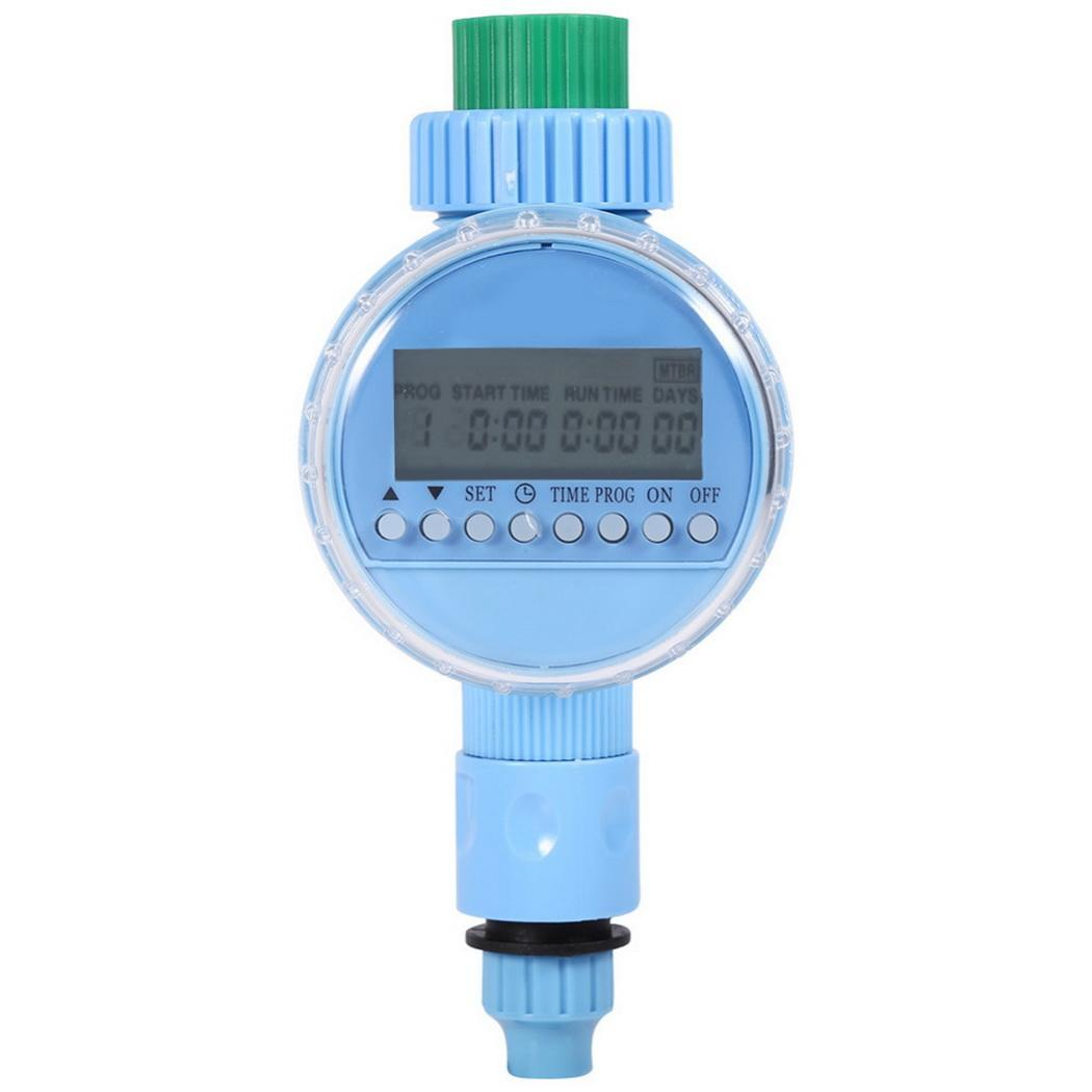 Electronic Garden Water Timer Solenoid Valve 0-400 KPA Irrigation 0-40 Degrees Celsius Automatic Controller(China)