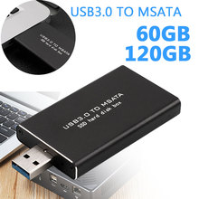 Portable Mobile Hard Drive SSD 60GB 120GB External Hard Drives USB3.0 Super Speed Memory Convenience Laptop Computer