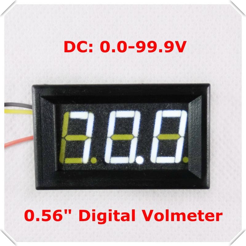 Online Buy Wholesale car digital voltmeter from China car