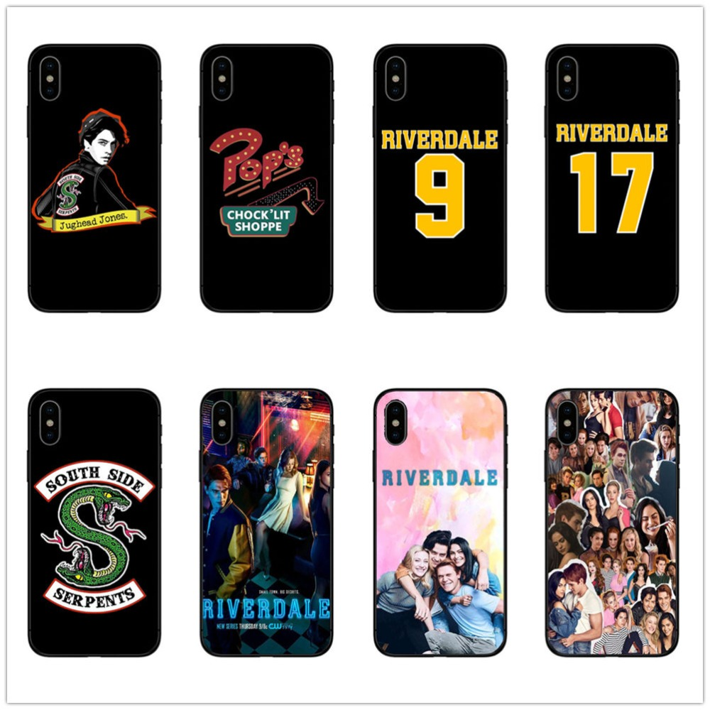 luxury Silicone <font><b>case</b></font> for <font><b>iphone</b></font> se <font><b>case</b></font> <font><b>Riverdale</b></font> Friends Central Perk soft clear for <font><b>iphone</b></font> 8 7 <font><b>6</b></font> 6S PLUS 5 5S XR X XS MAX <font><b>case</b></font> image