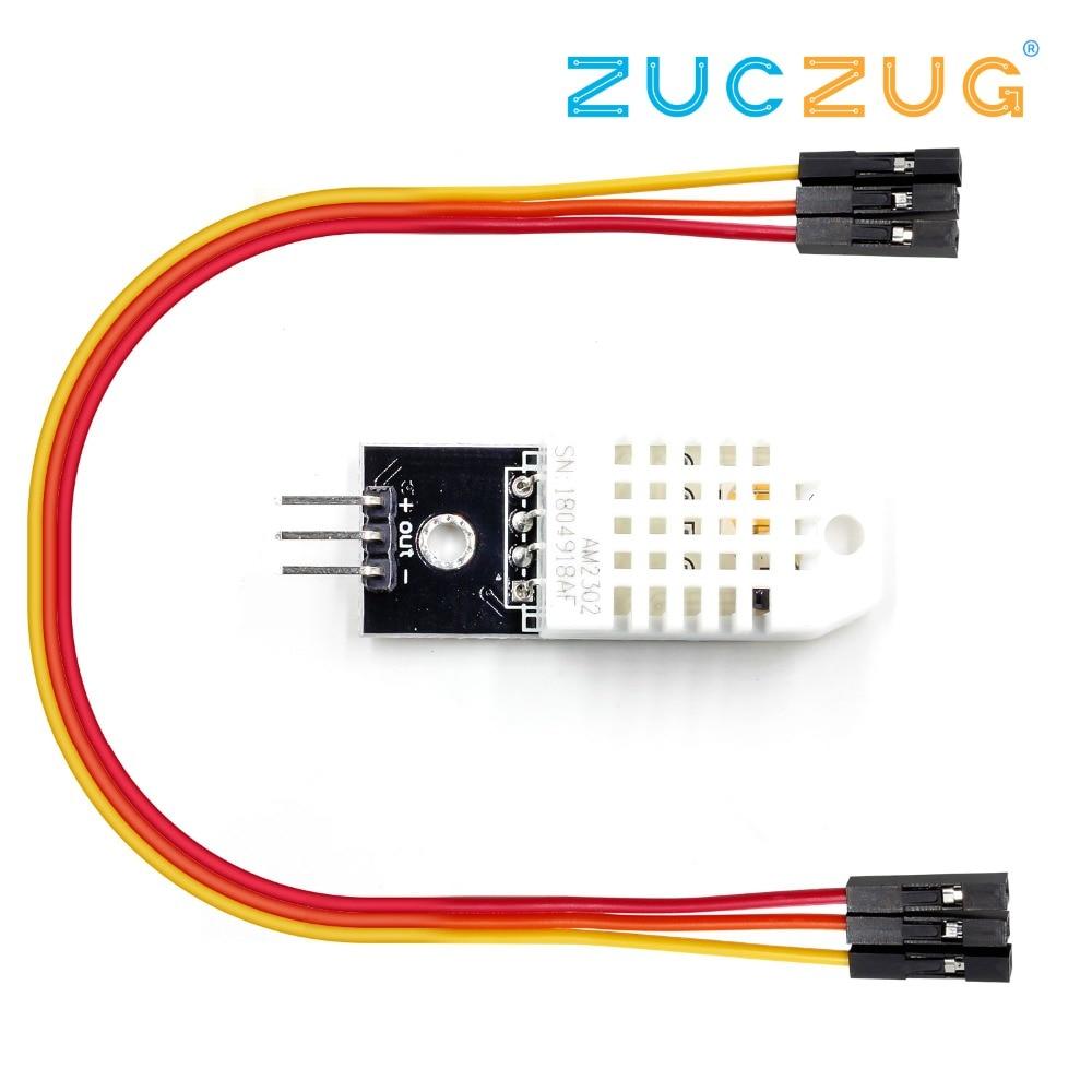 1set DHT22 single-bus digital temperature and humidity sensor module AM2302 electronic building blocks