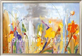 contemporary flowers Modern painting Bryony wall art High qualtiy 100%handmade