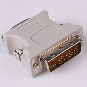 High Quality DVI DVI-I Male to VGA Female Video Converter Adapter