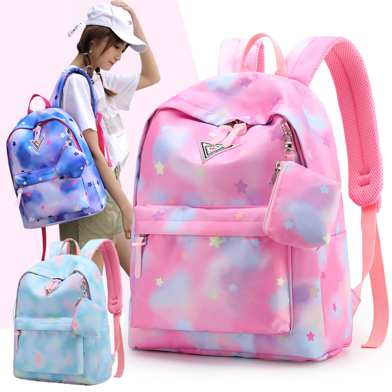 Orthopedic Backpacks Waterproof Orthopedic School Bag School Bags For Girls Backpack Women Mochila Escolar Bolsa Escolar Pink