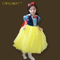 Neue Hochwertigen Kids Princess Sofia Kleid für Baby Mädchen Snow White Cosplay Kostüm Kinder Weihnachtsfeier Tutu Kleider 2016