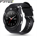 MIFRE Round Sport Watch Full Screen Smart Watch V8 For Android Match Smartphone Support TF SIM Card Bluetooth Smartwatch PK GT08