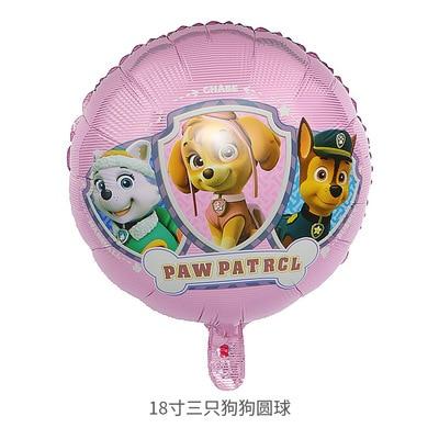 Хит, Paw Patrol, украшение на день рождения, фигурки, игрушки, Щенячий патруль, воздушные шары, вечерние, декор для комнаты, Чейз, Маршалл, баллон, детские игрушки для девочек - Цвет: G
