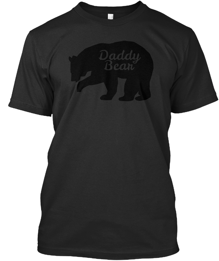 Daddy Bear T Fathers Day - Premium Tee T-Shirt