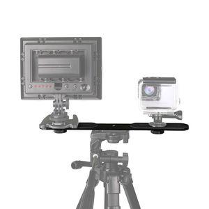 """Image 3 - Đa Năng Đèn Flash Kép Giá Đỡ Với 2 1/4 """"Adapter Ốc Vít Cho Phòng Thu Chân Giá Đỡ Máy Ảnh SLR Kỹ Thuật Số"""