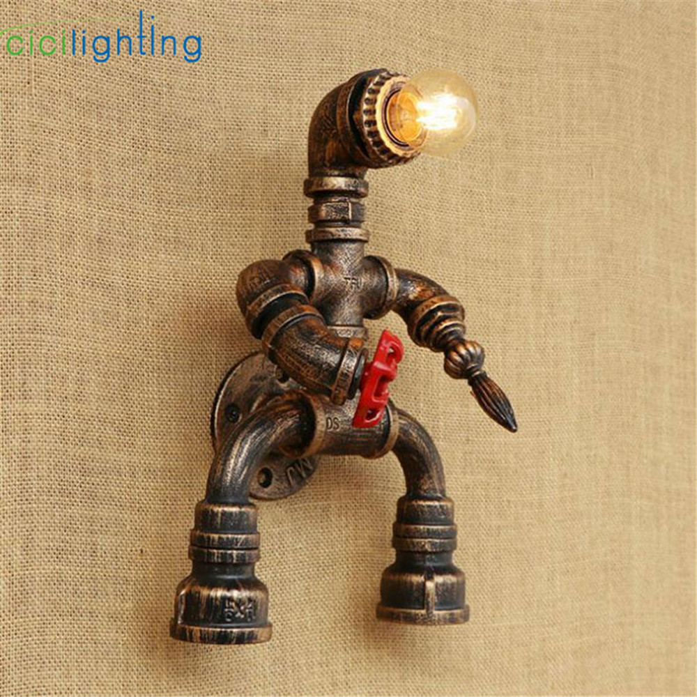 Modern Kids children room\'s wall light dwarf decorative wall mounted ...