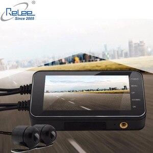 Image 4 - Relee 오토바이 전자 dvr 대시 캠 1080 p 방수 오토바이 카메라 gps dvr 모터 보안 와이파이 카메라 블랙 박스 dvr