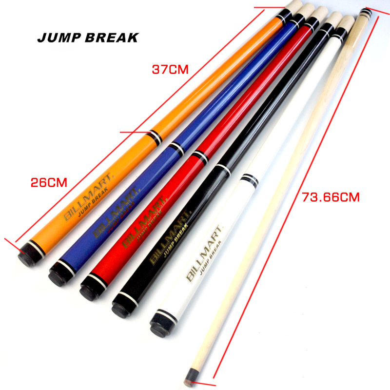 NEW 2 IN 1 Break Cue Jump Cues 5 Colors Option 13mm Tip China 2019