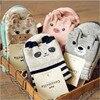 2016 New Brand Caramella Kawaii Animal Socks Cute Women Panda Pig Bear Giraffe Cartoon Sock Novelty