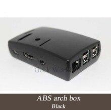 Raspberry Pi Model B Plus & Raspberry Pi 2 Black Case Cover ABS box with 3pcs Aluminum Heatsinks