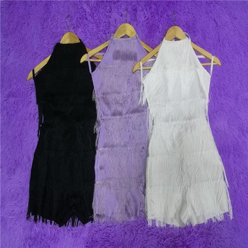Lacée purple Linyi Dan Black Mode Sexy Nouvelle white Club Multicolore Gland Celebrity Robe Évider 2019 OwPpqCH