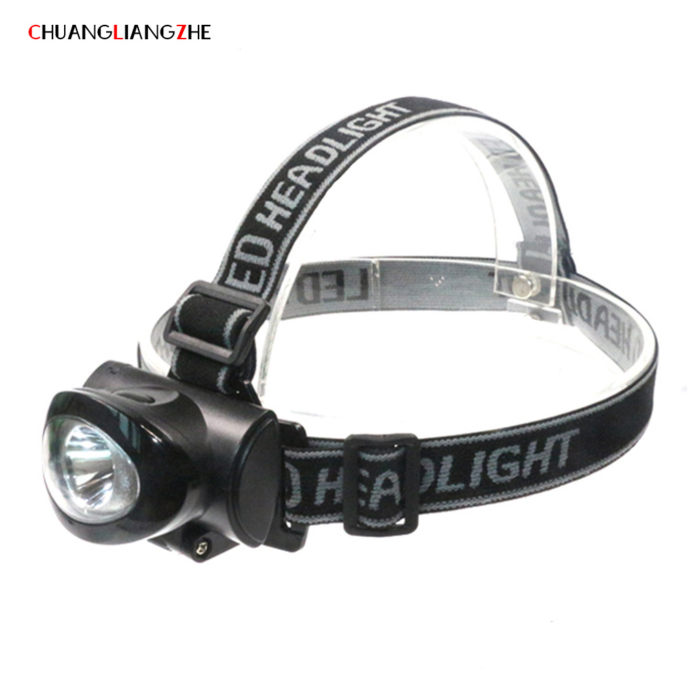 CHENGLIANGZHE LED Light Head Lamp Light Plastic Outdoor Flashlight Long-range Exploration Mining Light ABS Bicycle Light