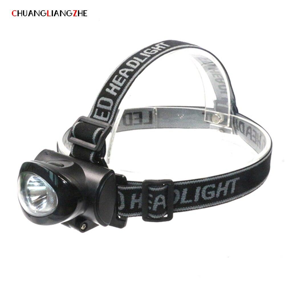 CHENGLIANGZHE LED Light Head Lamp Light Plastic Outdoor Flashlight Long-range Exploration Mining Light ABS Bicycle Light