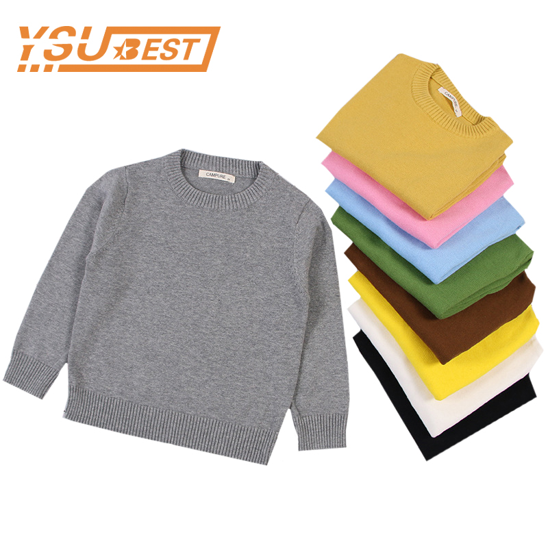 2018 Autumn Baby Boys Girls Turtleneck Sweaters Sweater Kids Sweaters For Winter Knitted Bottoming Boys Sweaters Vetement Enfant