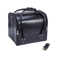 Women Makeup Bags Cosmetic Cases Fashion PU Leather Luxury A