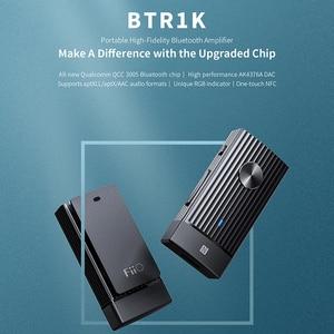 Image 2 - MÁY NGHE NHẠC FIIO BTR1K Bluetooth 5.0 Không Dây Di Động Bộ Khuếch Đại Tai Nghe Tiếng Ồn Loại Bỏ USB DAC Thu Âm Thanh có MIC hỗ trợ NFC