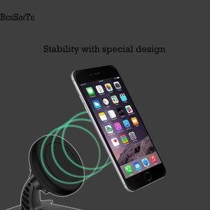 Image 5 - Điện thoại người giữ xe siêu từ tính điện thoại đứng 360 Rotation Không Khí Núi chủ trong Xe cho iPhone 5 7 8 cho samsung Phổ đứng
