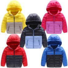 цена Winter Children Down Jacket Snow Wear Jackets Boys High Quality White Duck Down Outerwear Teenage Girls Jacket Hooded Kids Coats онлайн в 2017 году