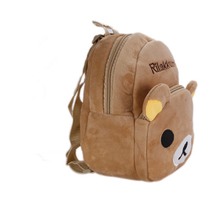 Kawaii Rilakkuma Bear Plush Backpacks Cute Peluche School Bags Soft Cartoon Stuffed Toys Doll for Children Gift
