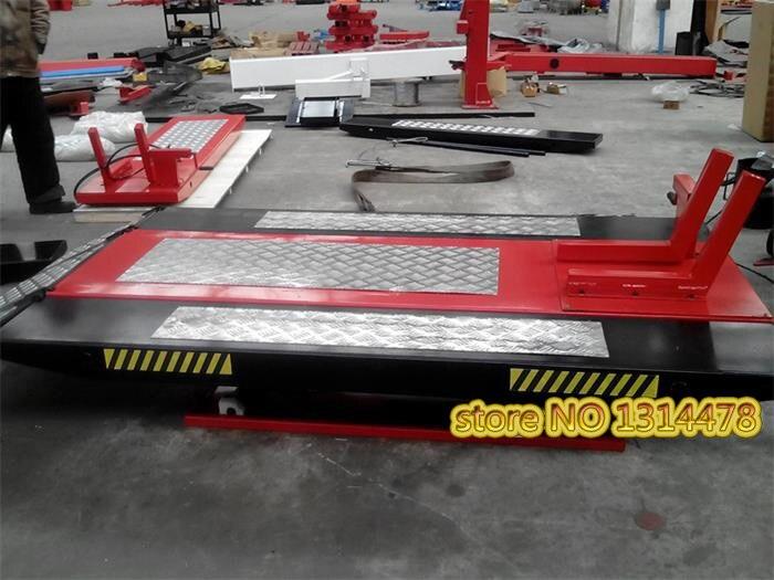 Plate-forme hydraulique électrique d'entretien de moto de 1 tonne
