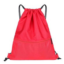 Simple Design Beach Bag Outdoor Fitness Sport Bag Bundle Pocket Unisex Drawstring Bag backpack Mochila Bolso Mujer Casual#