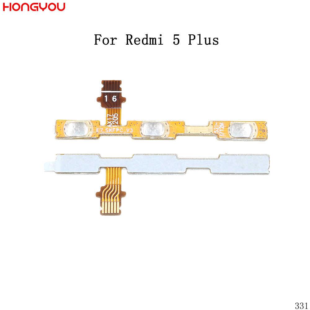 Мощность Кнопка ВКЛ/ВЫКЛ громкость, выключение звука кнопка включения гибкий кабель для Xiaomi Redmi 5 Plus