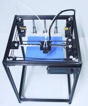 Ifancybox3 двойной большие размеры corexy 3D-принтеры комплект ifancybox машина Принтер 3d пандусы черный corexy полный комплект 3D-принтеры двойной экструдер