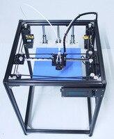 ifancybox3 dual big size corexy 3D Printer kit ifancybox Machine printer 3D Ramps black corexy Full Kit 3d printer dual extruder